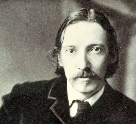 Author Robert Louis Stevenson around the time of his visit to Schramsberg in 1880.
